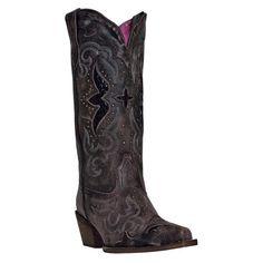 Laredo Women's Snake Underlay Western Boots