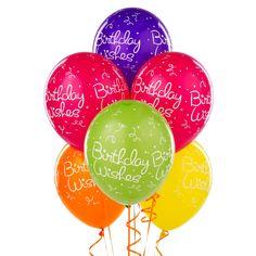 Happy Birthday Balloons Clip Art Wishes Funny Clips