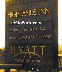 Pacific Edge Restaurant at the Highlands Inn, Hyatt in Carmel, Ca ....epic!