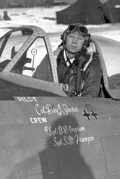 P-47 Thunderbolt 365th Fighter Group Col. Ray Stecker.
