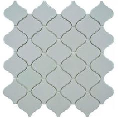 Merola Tile Lantern Grey 12-1/2 in. x 12-1/2 in. Porcelain Mosaic Floor and Wall Tile (11 sq. ft. /case)-FKOLB810 at The Home Depot