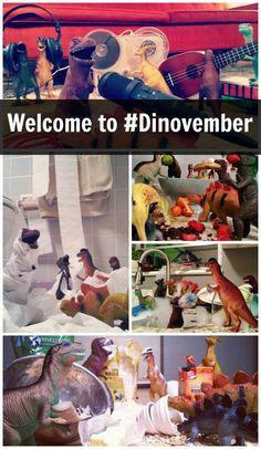 Who Needs The Elf On The Shelf? We're Doing Dinovember! #elfontheshelf #dinovember #christmas