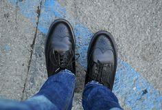 Dr. Martens shoes.