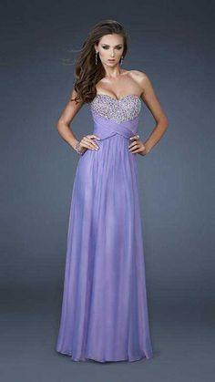 f269cbb900c Embellished A-Line Long Sleeveless Chiffon Lilac Evening Dresses In Stock prom  dress prom dresses