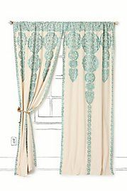 love these curtains...anthropologie.com