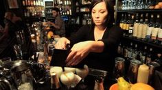 Eryn Reece in scene from Spirit Guides: the Return of Craft Bartending in New York by Jesse White.
