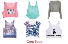 Create Chic Look With #Wholesale Womens Crop #Tops