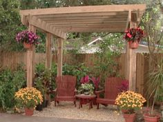 Wish you had more shade in your backyard? Put the finishing touches on your garden landscape by building this DIY pergola with Ron Hazelton.