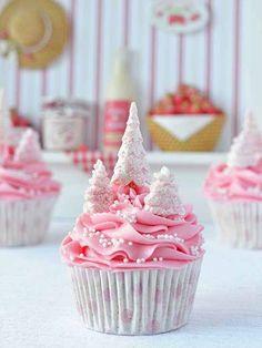 Des gateaux 100% girly pour les fêtes ! Yummy ! #food #cake