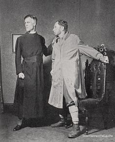 Austin Trevor and Leslie Howard in Galsworthy's Escape - Booth Theatre, New York, October 26, 1927