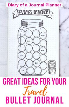 Read here for clever and creative ideas for a travel bullet journal. Whether you are creating a whole travel bullet journal or just having travel themed pages, you are sure to find ideas to inspire you! Keeping A Bullet Journal, Bullet Journal Travel, Bullet Journal For Beginners, Bullet Journal Hacks, Bullet Journal How To Start A, Bullet Journal Layout, Bullet Journal Inspiration, Journal Ideas, Creative Journal
