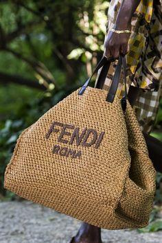 Fendi Spring 2020 men fashion show details Men Fashion Show, Fashion Bags, Fashion Accessories, Fashion Fashion, Runway Fashion, Womens Fashion, Fashion Outfits, Fashion Trends, Trash To Couture