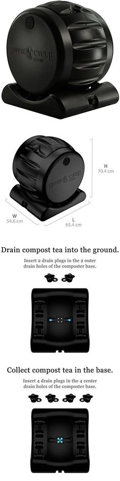 garden compost bins countertop compost pail container composter decorative compost bin kitchen new u003e buy it now only on ebay