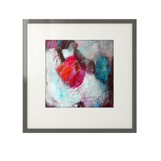 Original abstract painting on Hahnemuhle acrylic by SweetStudio