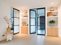 Villa by Piet-Jan van den Kommer - Piet-Jan van den Kommer Home Living Room, Living Area, Home Renovation, Home Remodeling, Piano Room, Interior Decorating, Interior Design, Apartment Design, Beautiful Interiors