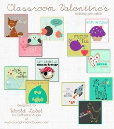 Printable Valentineu0027s Labels For Kids   Download And Print Today! |  Holidays, Free Printable And DIY Party