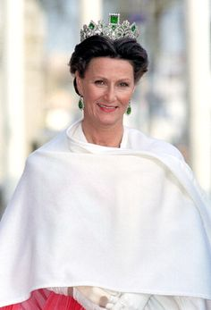 Queen Sonja of Norway; Princess Martha certainly looks like her mother