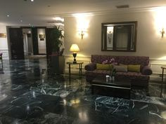 The ornate elevator landing lounges at the Westin Palace Madrid. Lounges, Elevator, Landing, Palace, Madrid, Portugal, Spain, Sevilla Spain, Palaces