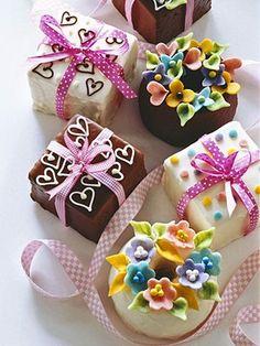Valentine cake. Not a recipe but cute ideas.