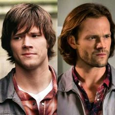Sometimes I get feels from seeing how much Jared Padalecki has grown up during Supernatural.