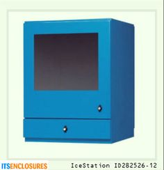 IceStation ID282526-12 NEMA 12 industrial enclosure: Your PC would be rendered useless without your monitor! The same enemies that can harm your PC - dust and liquids, can also damage your monitor. Protect both your PC and monitor in an all-in-one NEMA rated enclosure.