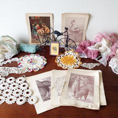 Today was incredible day of thrifting! It's so much fun going through all of the junk in order to find these vintage treasures. I think I'm addicted.  - - - - - #thrifting #thriftingfinds #vintagelove #vintagefinds #vintagefeel #rustic #vintagelace #vintagedoilies #lacelover #vintagepic