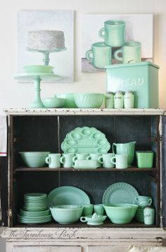 lovely vintage jadeite collection