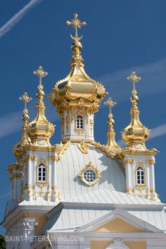 Church Wing of the Grand Palace in Peterhof