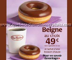 Tim Hortons : Obtenez un beigne pour 49¢ seulement ! - Quebec echantillons gratuits