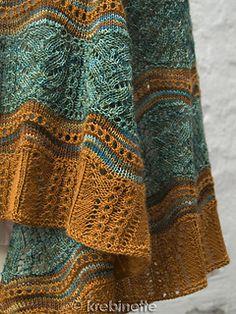 Owl Moon Shawl pattern by Ann Thomsen - Stola Stricken Knit Or Crochet, Crochet Shawl, Crochet Vests, Crochet Cape, Crochet Edgings, Crochet Granny, Crochet Motif, Knitted Shawls, Crochet Scarves