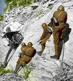 Czechoslovakian mountain troops Women In History, World History, Ancient History, World War Ii, Art History, Military Weapons, Military Art, African American History, British History