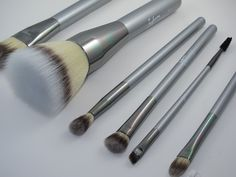 It Cosmetics Heavenly Luxe Brushes.  The first non-animal hair brushes that I really like!  Soft, subtle and easy to clean.