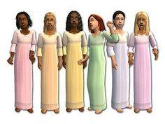 Mod The Sims - Princess Nighties for Girls