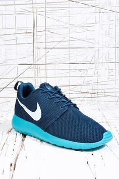 newest 5a255 c2532 Nike Roshe Run Trainers in Blue at Urban Outfitters Nike Roshe Run, Nike  Free,