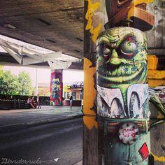 "Bratislava, Emphasis on the ""Lava"" - The Wondernuts Bratislava Slovakia, Street Art Photography, Urban Art, Graffiti, Canvas, Beautiful, Street Art, Street, Murals"