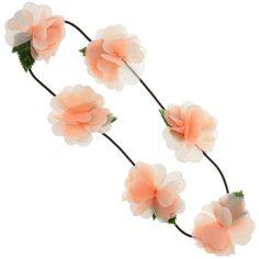 Heart Petal Chiffon Flowers