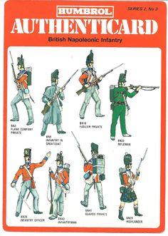 soldatini uniformi e storia militare: British Napoleonic Infantry