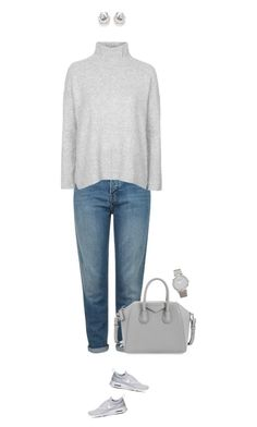 """When you love it Basic !"" by azzra on Polyvore featuring Topshop, NIKE, Givenchy, Larsson & Jennings, women's clothing, women, female, woman, misses and juniors"