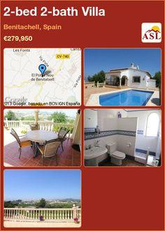 2-bed 2-bath Villa in Benitachell, Spain ►€279,950 #PropertyForSaleInSpain