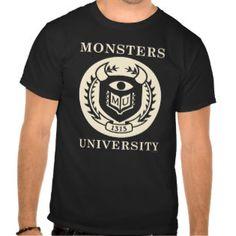 MU Seal - Dark T-shirt   Monsters University