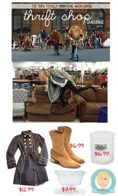 #Macklemore #Thrift Shop Challenge  www.ThriftDee.com