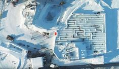 Snowlandia Worlds Largest Snow Labyrinth Opens In Poland x-post from r/WinterPorn Places Around The World, Around The Worlds, Greek Art, Maze, Trip Planning, Worlds Largest, Poland, Wander, Snow