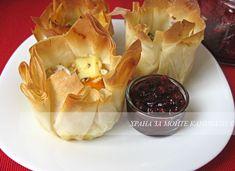 Храна за мойте канибали: Кошнички с ароматни сирена