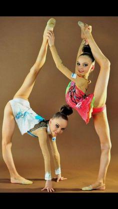 Dina and Arina Averina.