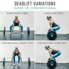 deadlift workout for beginners Weight Training, Weight Lifting, Deadlift Variations, Fitness Tips, Fitness Motivation, Preparation Physique, Workout Guide, Ufc Workout, Workout Plans
