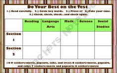 Be Your Best on the Test