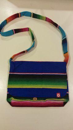 Tejas Serape Messenger Bag