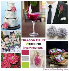 Dragon Fruit Wedding Inspiration