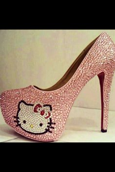 Oh my...Hello Kitty bling!