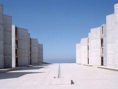 Salk Institute for Biological Studies, San Diego, EUA, por Louis Kahn